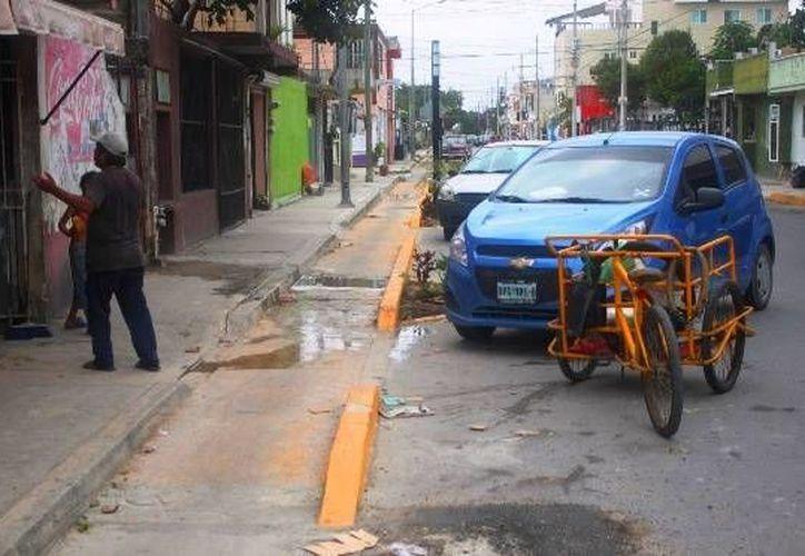 El Colegio de Arquitectos se suma a las voces de rechazo contra la ciclovía de la colonia Colosio en Playa del Carmen. (Daniel Pacheco/SIPSE)