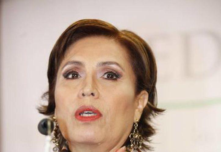 PAN y PRD solicitarán juicio político contra la titular de Sedesol, Rosario Robles. (Notimex)