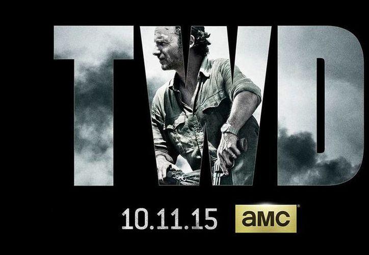 El más reciente póster promocional de la serie The Walking Dead muestra al protagonista Rick Grimes. (AMC)