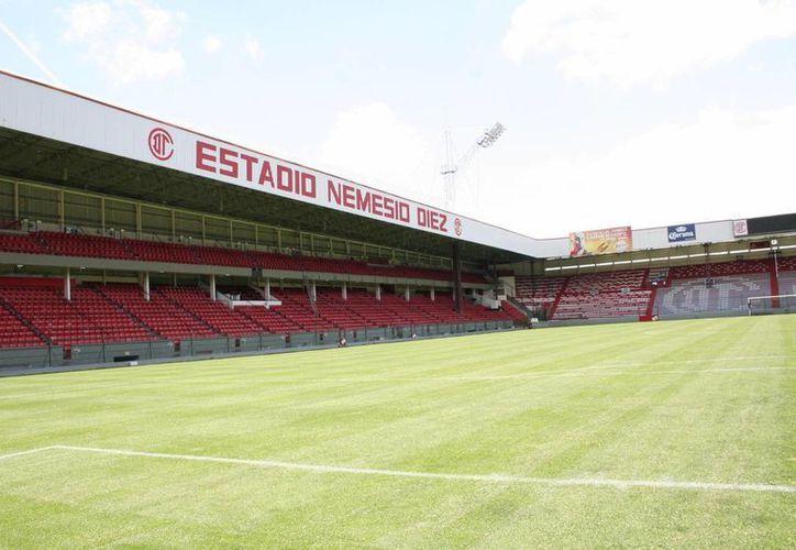 El estadio Nemesio Diez, también conocido como La Bombonera, sede del equipo Diablos Rojos de Toluca sufrirá una metamorfosis en su estructura, que terminará en 2017. (vavel.com)