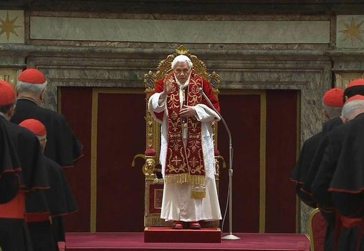 """El Papa pidió """"que el Colegio Cardenalicio funcione como una orquesta"""". (Agencias)"""