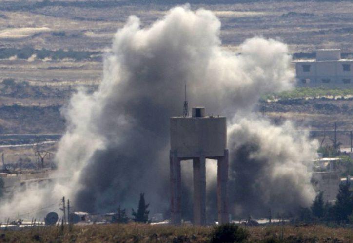 Se trata de la segunda gran operación militar del Ejército sirio desde que Rusia comenzó sus bombardeos. (Agencias)