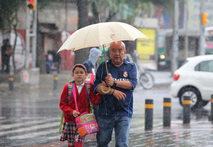 En la zona del Pacífico Sur se esperan lluvias muy fuertes e incluso granizo en los estados de Guerrero y Oaxaca. (Notimex)