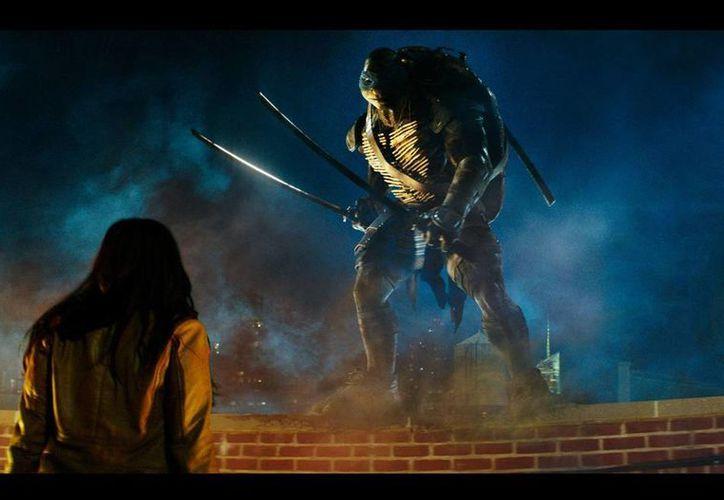 """""""Las Tortugas Ninja"""", la nueva versión con actores del cómic que cumple 30 años, se estrena el jueves en México y el viernes en EU. (tortugasninjalapelicula.com.mx)"""