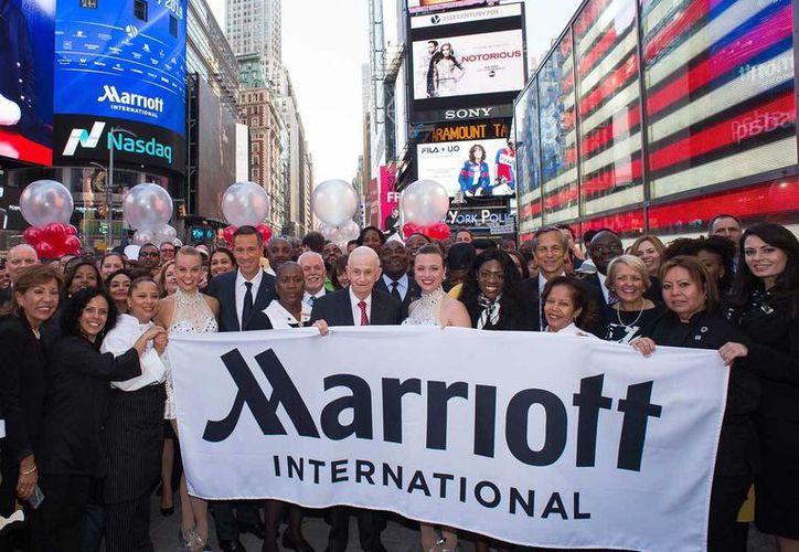 Marriott International adquirió Starwood Hotels & Resorts Worldwide por 13 mil millones de dólares. (Charles Sykes/AP imágenes de Marriott International)