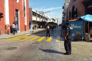 Mérida, sin taxis ni combis