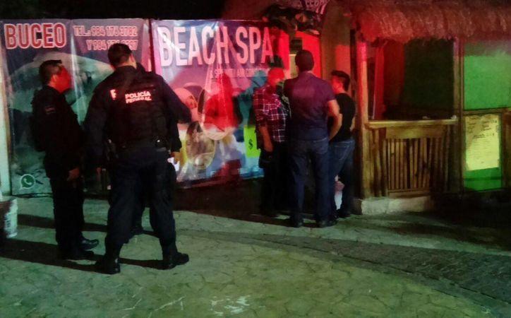 Los presuntos delincuentes fueron detenidos en un spa. (Foto: Redacción)I