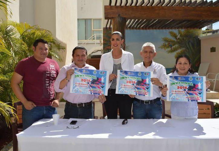 Anuncio oficial del Campeonato Regional Invernal de Atletismo 2014, que tendrá como sede el Estadio Salvador Alvarado. (Milenio Novedades)