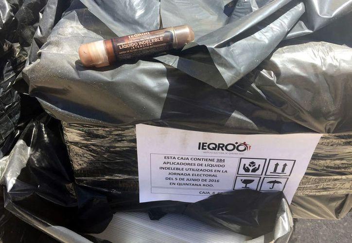 La empresa que se encargará de su confinamiento y desactivación de los químicos, deberá rendir informe al Ieqroo. (Joel Zamora/SIPSE)