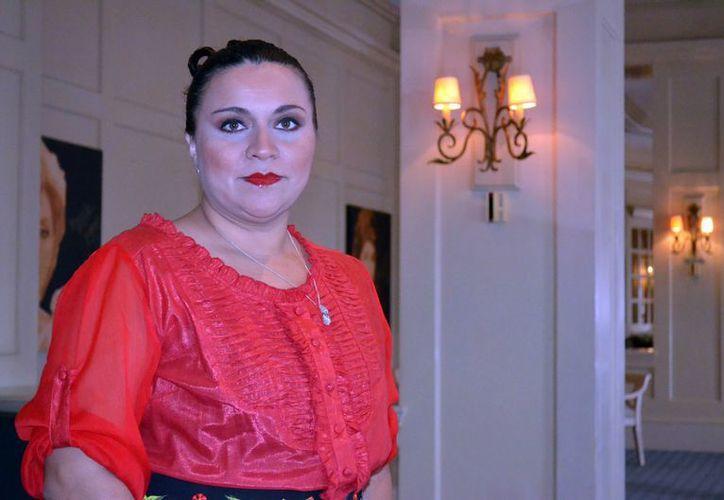 Representante de las mujeres empresarias Diane Carrillo Vega. (Milenio Novedades)