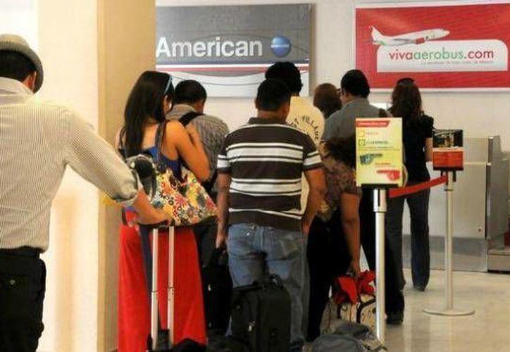 El fraude se presento en la ruta Monterrey-Cancún. (Sergio Orozco/SIPSE)
