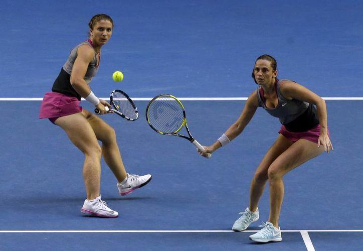 Errani y Vinci consiguieron su cuarto título en dobles en torneos de Grand Slam. (Agencias)