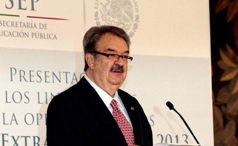 Serrano Migallón comentó que las Normales cuentan con un sistema que viene desde el siglo XIX. (Archivo/Notimex)