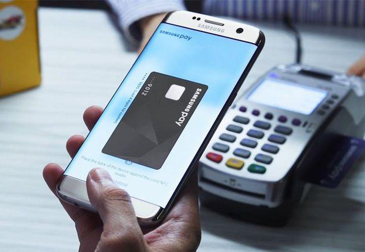 Con los smartphones Samsung puedes realizar pagos con Samsung Pay. (Samsung)