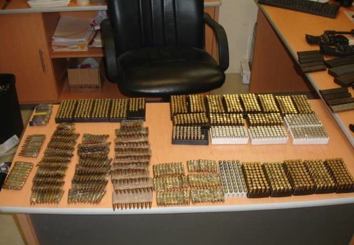 El sujeto que transportaba las municiones fue detenido. (Archivo/SIPSE)