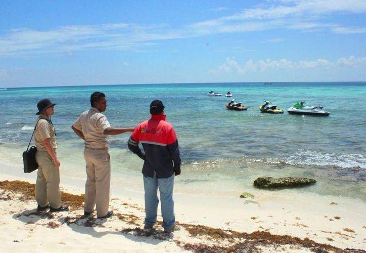Autoridades descartan que se presente una tromba marina en la Riviera Maya. (Daniel Pacheco/SIPSE)