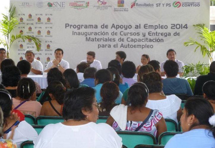 Las actividades se desarrollaron en el domo deportivo. (Raúl Balam/SIPSE)