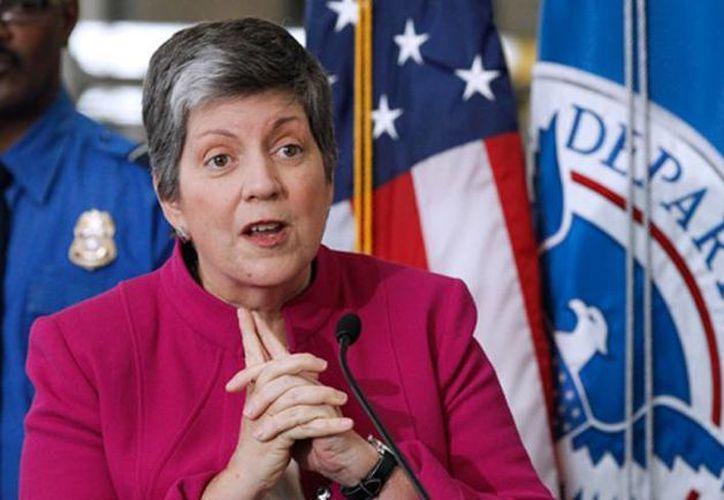 El documento del 2010 fue firmado por la secretaria de Seguridad Nacional, Janet Napolitano. (Archivo/AP)