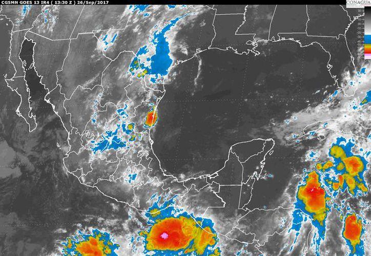 Para hoy se espera un día de tormentas matinales en Chetumal. (Conagua)