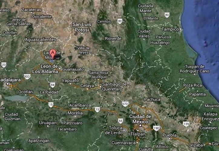 Mauricio Alejandro Ortiz González es el menor de 16 años que perdió la vida tras ser agredido con un arma blanca en Lagos de Moreno, Jalisco. (Google Maps)