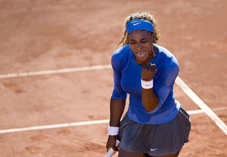 Serena requirió poco más de una hora para despachar a su rival. (Foto: Agencias)