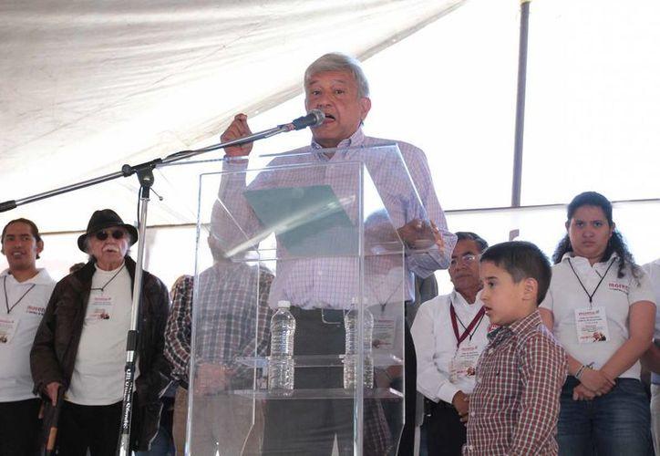 AMLO asegura que Morena se formará como partido. (Archivo/Notimex)