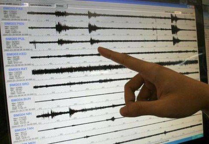 El sismo de Chile registrado la madrugada de este domingo tuvo una intensidad de 5.7 grados Richter. (Agencias)
