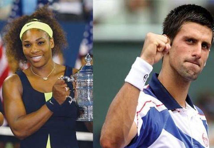 Serena Williams va por su segundo aire profesional, mientras Djokovic consolida su poderío. (www.nation.com.pk)