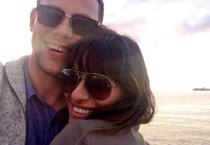 """""""Cory estará por siempre en mi corazón"""", escribió la actriz en su cuenta de Twitter. (@msleamichele)"""