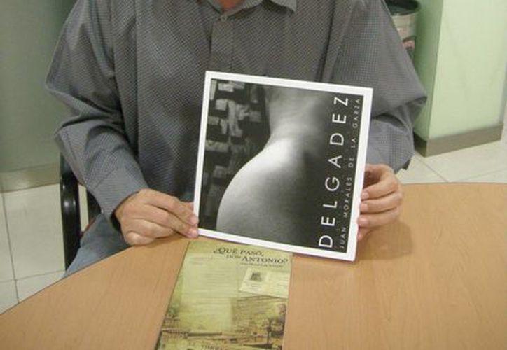 El escritor Juan Morales de la Garza convoca a los poetas a compartir sus obras hoy a través del evento 'Poetas por el cambio'. (Alejandra Flores/SIPSE)