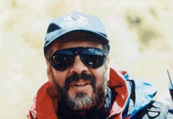 Torres Nava conquistó el pico más alto del planeta el 16 de mayo de 1989. Aquí aparece poco antes de iniciar el ascenso a la montaña. (everestspeakersbureau.com)