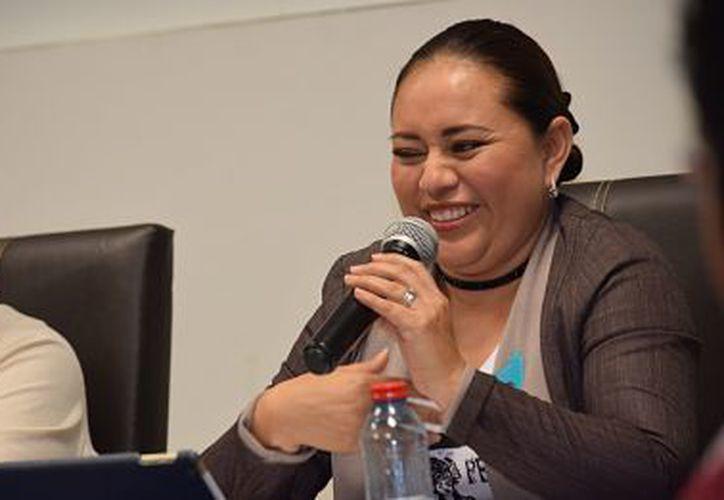 Perla Tun, no tuvo control de nomina, ni de gasto corriente, ni transparencia: Pedro Oscar Joaquín Delbouis. (Foto: Gustavo Villegas / SIPSE)