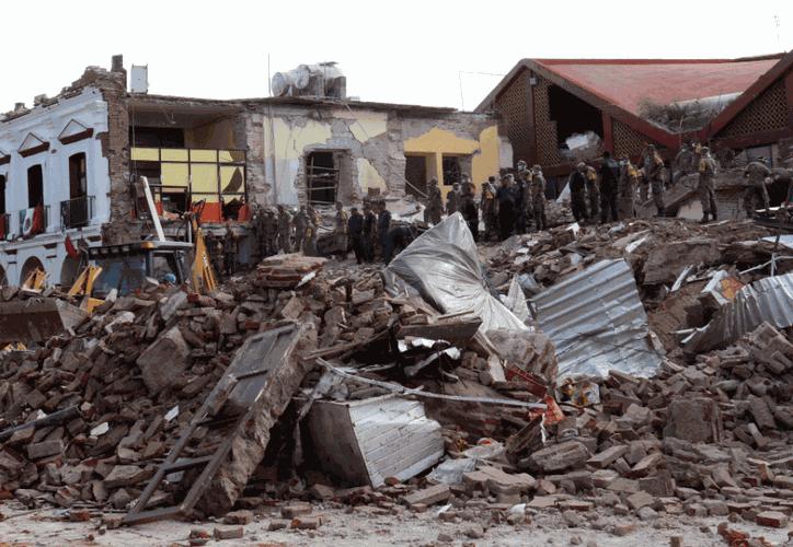 El sismo tuvo la misma magnitud al de 1932 con 8.2 grados. (Televisa News)