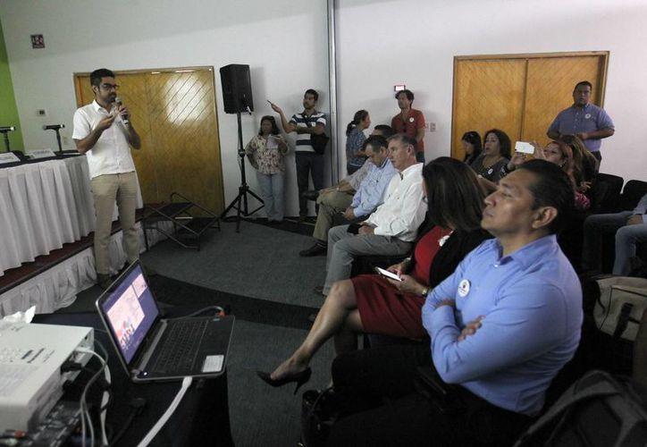 El proyecto fue presentado durante una conferencia de prensa. (Karim Moisés/SIPSE)