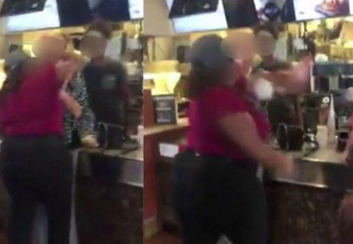 La dueña del establecimiento se pronunció bastante molesta por lo que había hecho su empleada. (Foto: Captura de pantalla).
