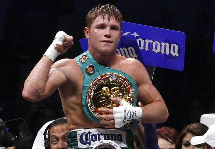El boxeador mexicano tendrá su primera pelea, después de vencer dudosamente al puertorriqueño Miguel Cotto. (Notimex)