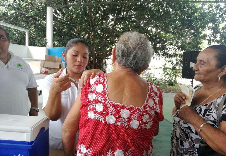 Durante una semana, personas de la tercera edad serán vacunadas y se les ofrecerá talleres de nutrición.  (SIPSE)