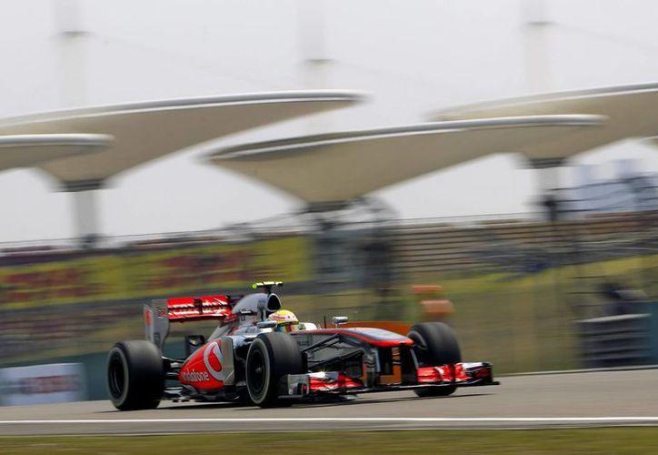 Sergio Pérez es piloto mexicano de Fórmula Uno, de McLaren. (EFE/Archivo)