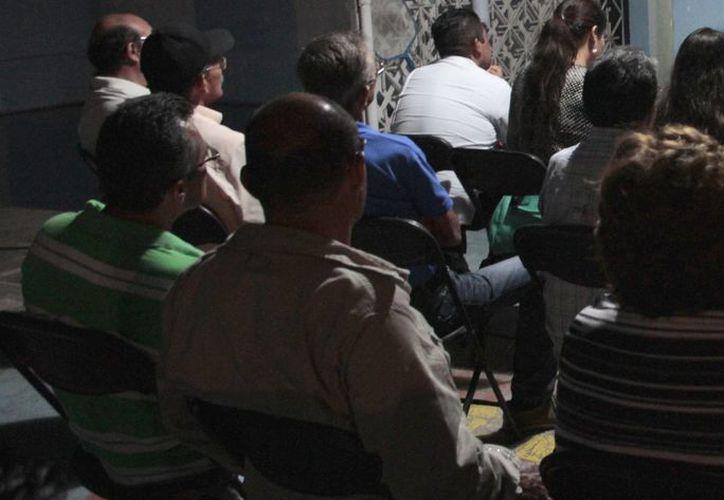 Integrantes del sindicato se reunieron ayer en la Región 94. (Tomás Álvarez/SIPSE)