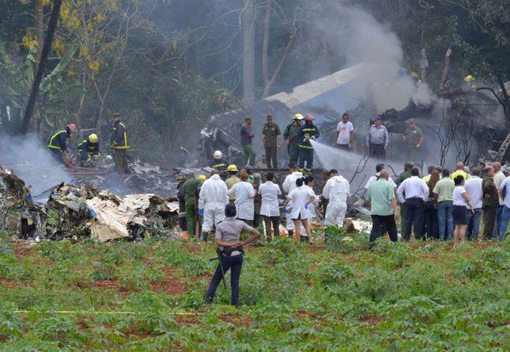 """Tres mujeres cubanas sobrevivieron al accidente y su estado de salud es """"crítico"""". (AFP)"""