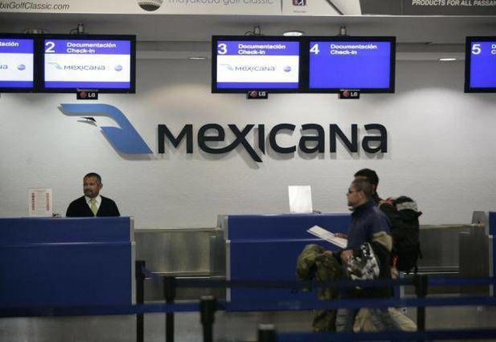La aerolínea Mexicana de Aviación fue declarada en quiebra en abril pasado. (Archivo/SIPSE)