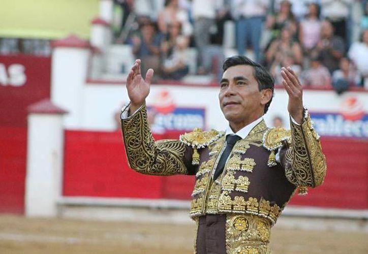 El 'Zotoluco' quiere un triunfo en su tercera presentación de la Temporada Grande en la Plaza México. (Imagen tomada de notijuarez.com)