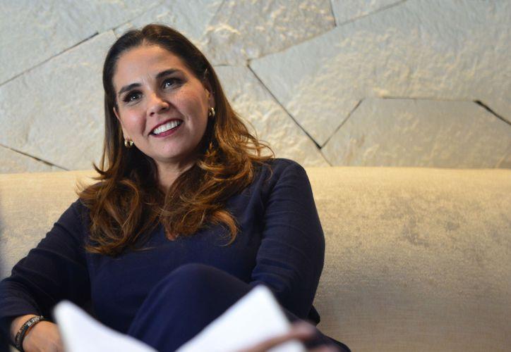 Mara Lezama fue reconocida como una 'buena presidente municipal' por Andrés Manuel López Obrador. (Karim Moisés/SIPSE)