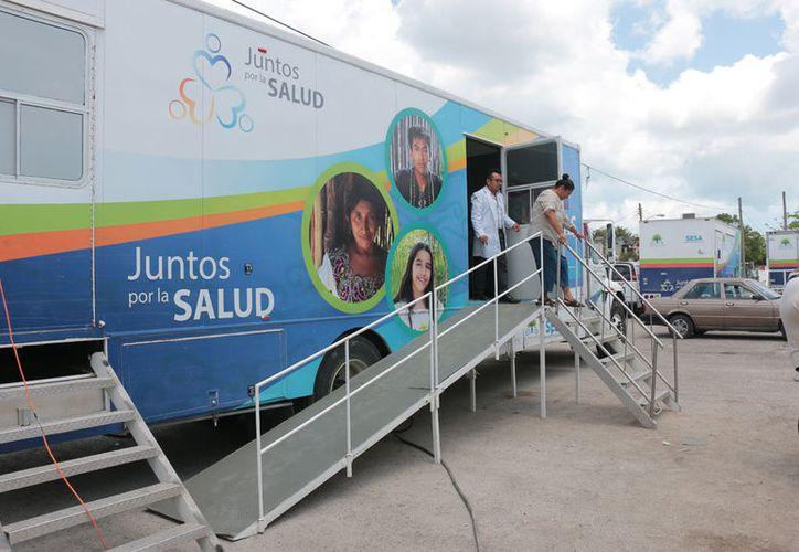 El 2 y 3 de mayo los médicos visitarán la colonia San Miguel 1, en la calle 3 Sur con 2 y 4 en el parque Las Gradas. (Gustavo Villegas/SIPSE)