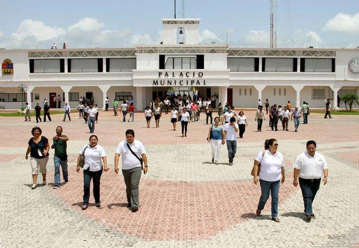 El municipio de Solidaridad festeja hoy su 21 aniversario.  (Adrián Monroy/SIPSE)
