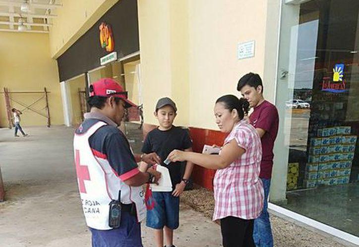 La delegación de Chetumal ha trabajado con números rojos, como otras delegaciones, por lo que la Cruz Roja a nivel estatal carece de un fondo de desastres. (Joel Zamora/SIPSE)