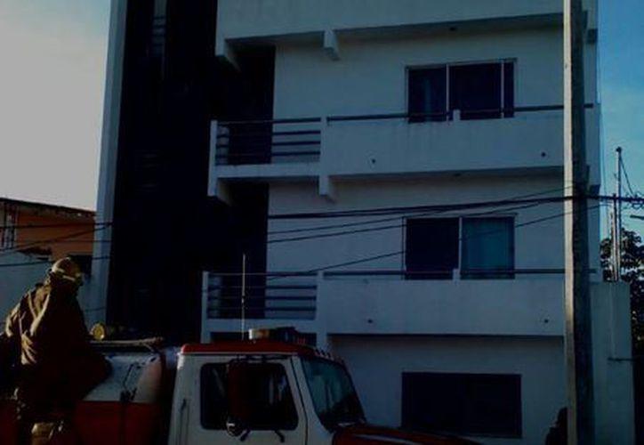 El reporte se dio en la calle Luis Echeverría de Bonfil. (Redacción/SIPSE)