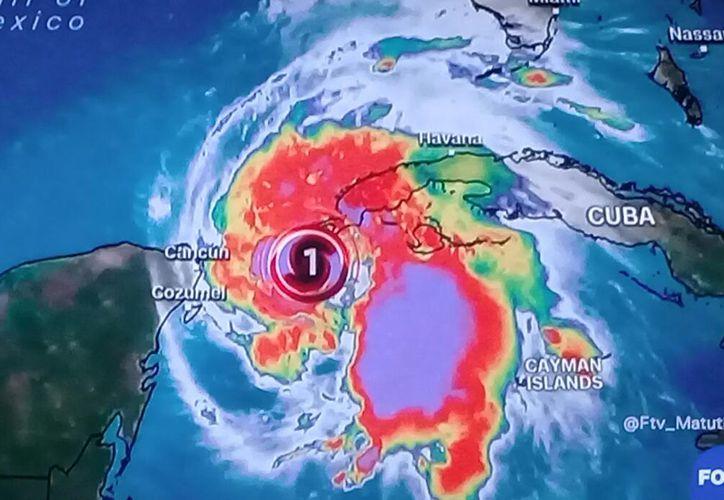 'Michael' está ubicado sobre el noroeste del mar Caribe. (Redacción)