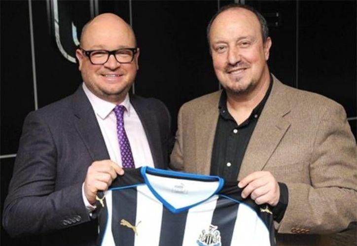 El técnico español tendrá su primer ensayo contra el líder Leicester, el próximo lunes. (Foto tomada de www.nufc.co.uk)