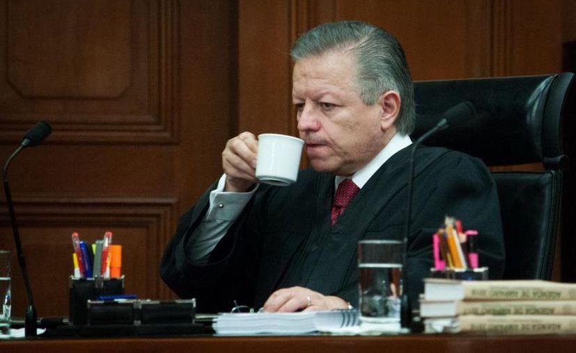 Arturo Zaldívar Lelo de Larrea fue electo este miércoles como Presidente de la Suprema Corte de Justicia de la Nación (SCJN) para el periodo 2019-2022. (Cuartoscuro)